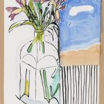 Fleurs - Dessin - David Kennedy, Artiste Peintre - Paris