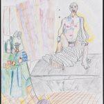 Modèle - Dessin - David Kennedy, Artiste Peintre - Paris