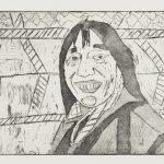 Susie - gravure - David Kennedy, Artiste Peintre - Paris