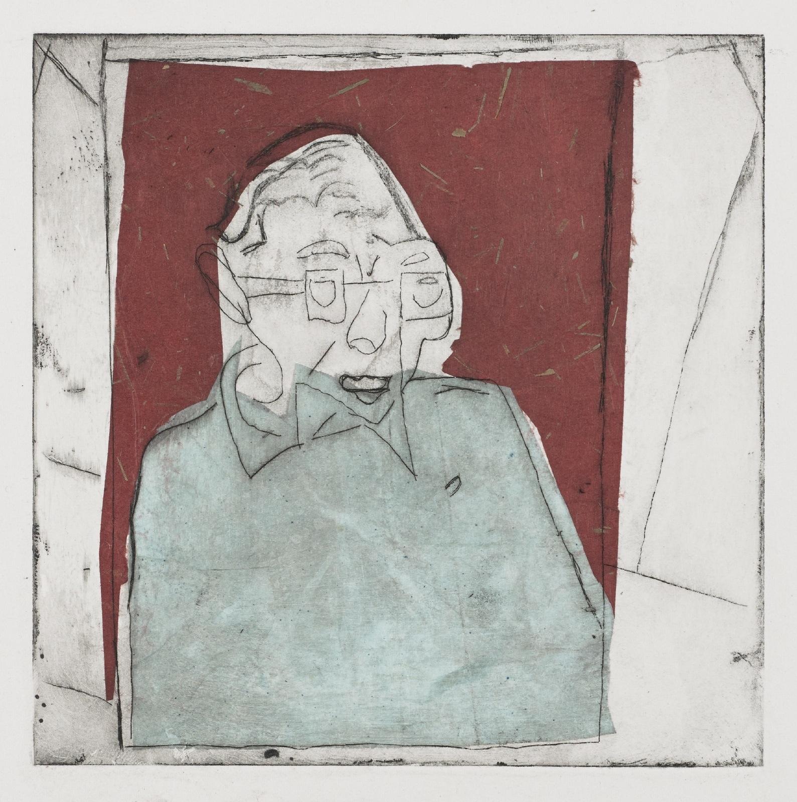 Gravures de David Kennedy - Artiste Peintre Paris : Colette