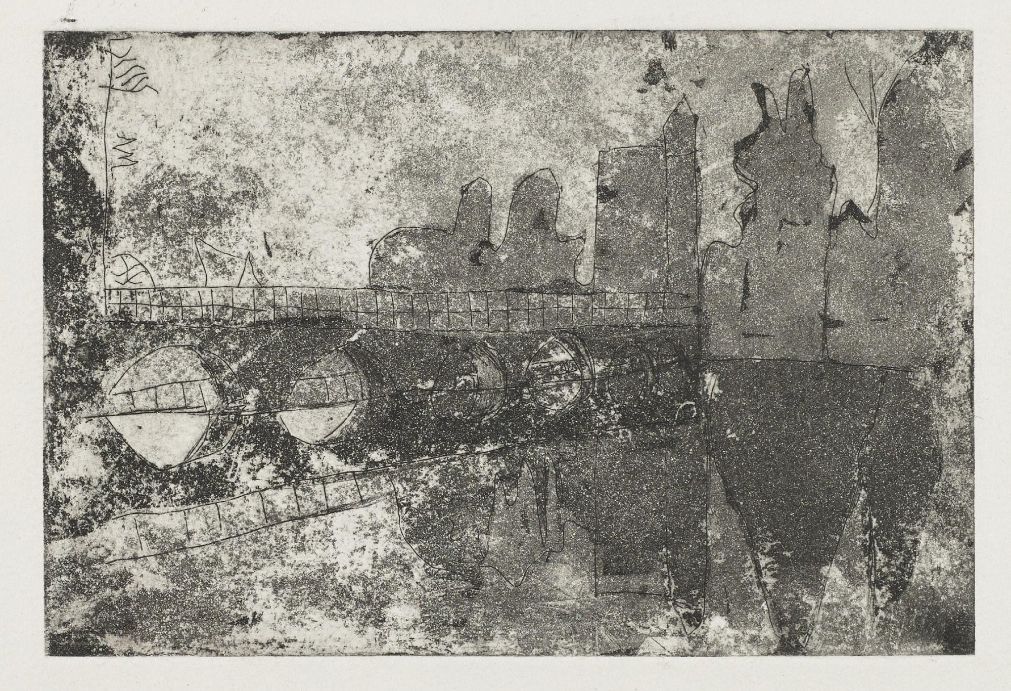 Gravures de David Kennedy - Artiste Peintre Paris : Pont