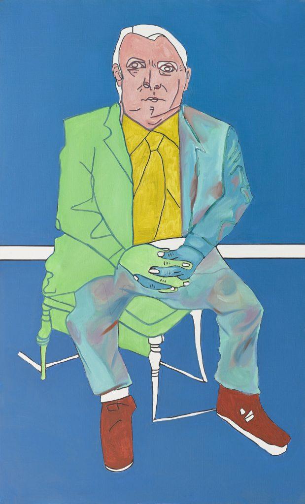 Tableau contemporain - Peinture à l'huile : Michael Kennedy