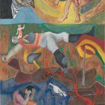 La mort de urée - tableau - David Kennedy, Artiste Peintre - Paris