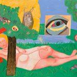 Suzanne et les vieillards - tableau - David Kennedy, Artiste Peintre - Paris