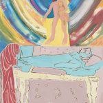 Funérailles saint françois d'assise - tableau - David Kennedy, Artiste Peintre - Paris