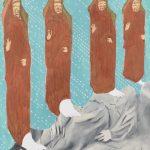 Extirpation pêché d'orgueil - tableau - David Kennedy, Artiste Peintre - Paris