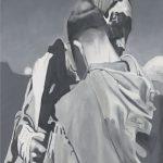 Saint françois embrassant lépreux - tableau - David Kennedy, Artiste Peintre - Paris