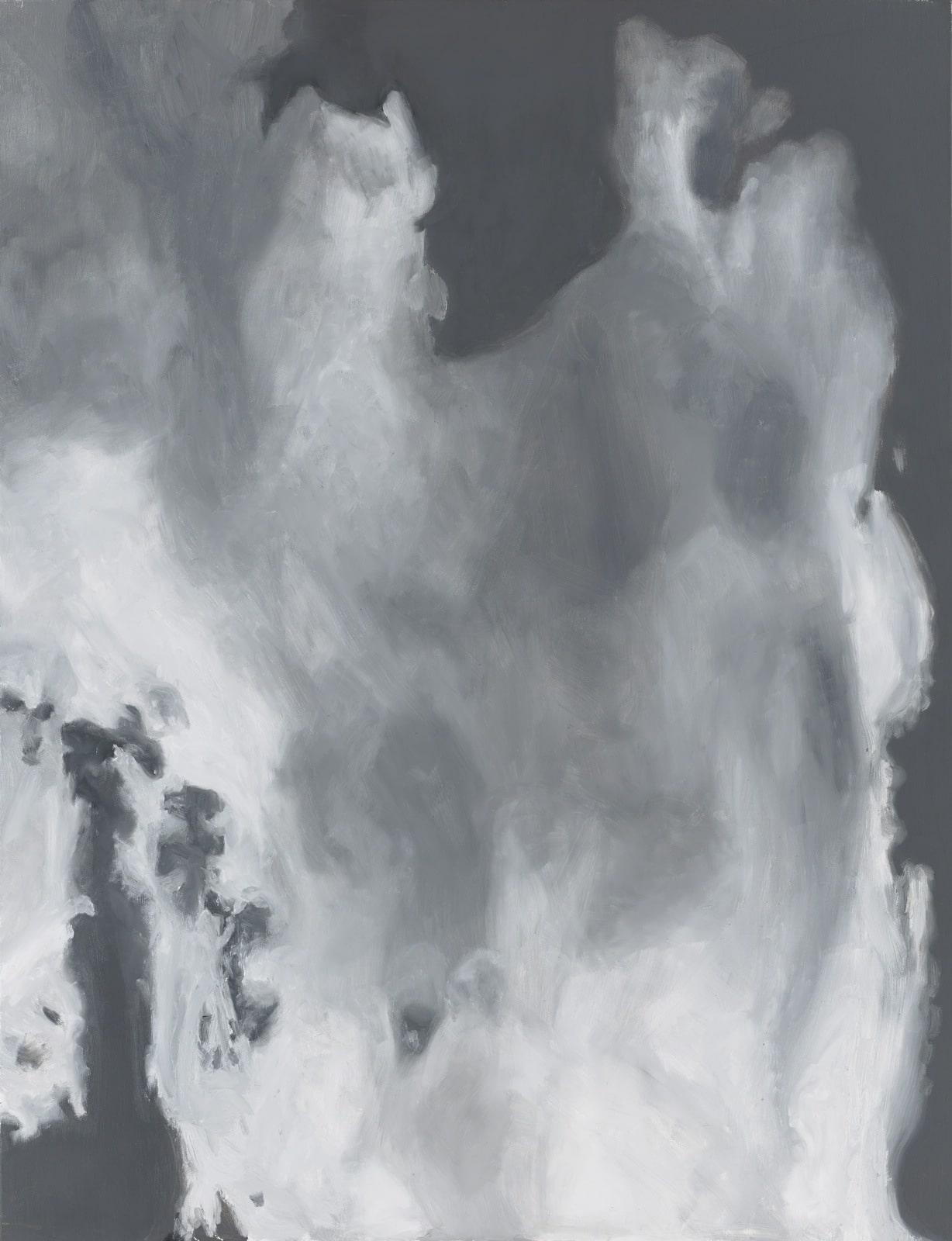 Tableau contemporain - Peinture à l'huie : Nuages - Evocation de l'Eternité