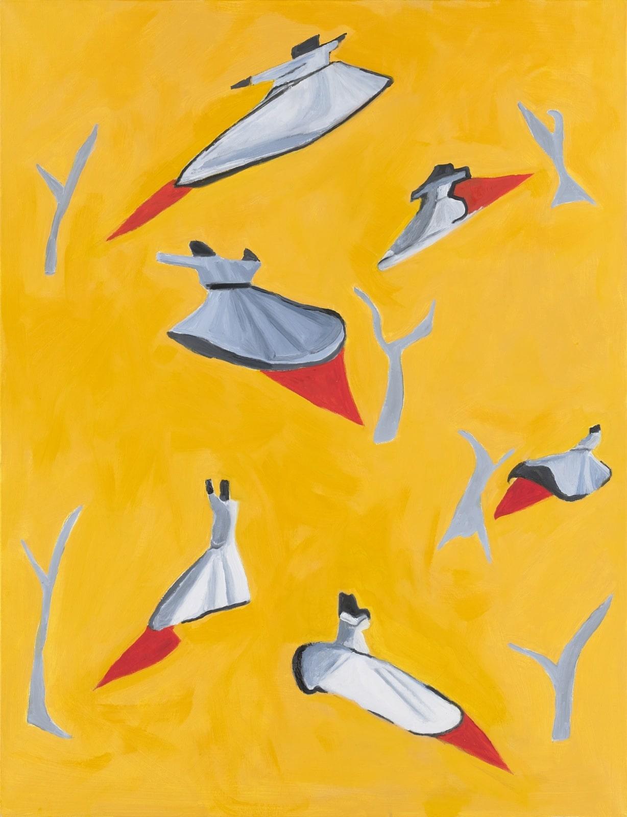 Tableau contemporain - Peinture à l'huile : Allez de par le monde …