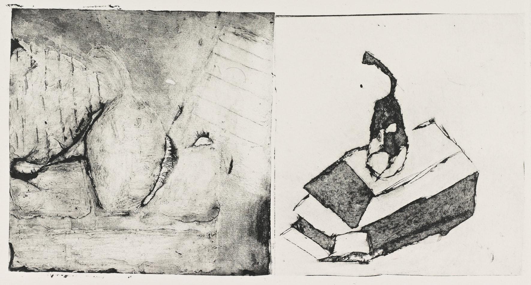 Poires - Gravure - David Kennedy artiste peintre